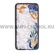 Чехол-накладка Samsung Galaxy Grand Prime G530h/G531h Павлин 10160