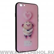 Чехол-накладка Apple iPhone 6/6S Милый поросенок