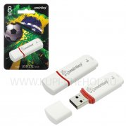 Флеш SmartBuy Crown 8GB White USB 2.0