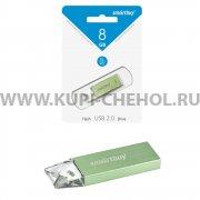 ФЛЕШ SmartBuy U10 8GB Green