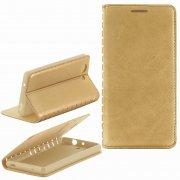 Чехол книжка Sony Xperia Z3 Compact / Mini New Case 001 золотой