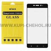 Защитное стекло Xiaomi Redmi 4 Pro Aiwo Full Screen чёрное 0.33mm