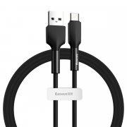 Кабель USB-Type-C Baseus Silica Gel Black 1m 3A