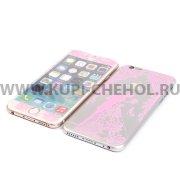 Защитное стекло Apple iPhone 6 4.7 9340 2 в 1 розовое