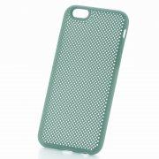 Чехол-накладка Apple iPhone 6/6S 9307 бирюзовый