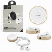 Bluetooth-гарнитура HOCO E11 Gold