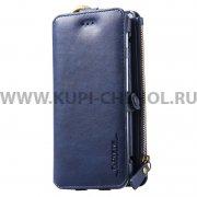Чехол-портмоне Samsung Galaxy S6 Edge G925 Floveme синий