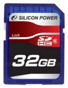 SD 32Gb class 6 к/п Silicon