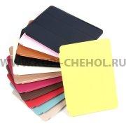 Чехол откидной Apple iPad 6 / Air 2 Smart Case 7669 светло-золотой