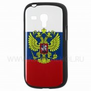 Чехол-накладка Samsung Galaxy S3 mini i8190 Russia 1940 чёрный