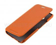 Чехол книжка HTC One M9 UpCase оранжевый
