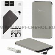 Power Bank 5000 mAh Hoco B13 Dark Gray.