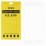 Защитное стекло NOKIA 6 Aiwo Full Screen белое 0.33mm