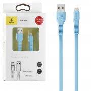 Кабель USB-iP Baseus Tough CALZY-B03 Blue 1m