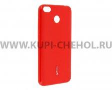 Чехол-накладка Xiaomi Redmi 4X Cherry красный