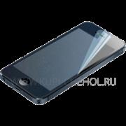 Защитная плёнка Apple iPhone 5/5S Ainy Crystal алмазная синяя