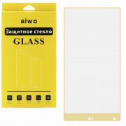 Защитное стекло Xiaomi Mi Mix Aiwo Full Screen золотое 0.33mm
