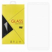 Защитное стекло Samsung Galaxy A6 (2018) A600f Glass Pro Full Screen белое 0.33mm