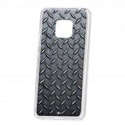 Чехол-накладка Huawei Mate 20 Pro Kruche Print Сталь