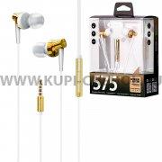 Наушники Remax RM-575 Pro Gold