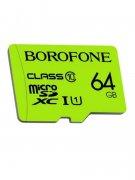 Micro SD 64Gb Class 10 к/п Borofone X-ray