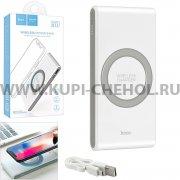 Power Bank 8000 mAh Hoco B32 Wireless White