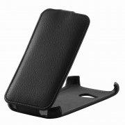 Чехол флип HTC Desire 200 iBox Premium чёрный