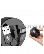 USB - Type-C кабель Baseus CALEP-C01 Black 0.9м