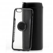 Чехол-накладка iPhone 6/6S Houking с кольцом черный