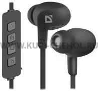 УШИ  Defender  FreeMotion B615  Black  Bluetooth