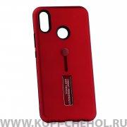 Чехол-накладка Huawei Nova 3i 42003 с подставкой красный