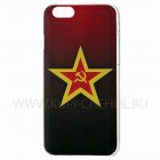Чехол-накладка Apple iPhone 6 Plus/6S Plus Anzo 6PF289 Red Star