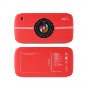 Power Bank 10000 mAh Remax Camera RPP-91 Wireless Red