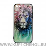 Чехол-накладка Apple iPhone 5/5S Lion