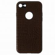 Чехол-накладка Apple iPhone 7 10027 Рептилия коричневый