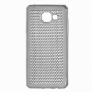 Чехол-накладка Samsung Galaxy A7 (2016) A710 серый 9106