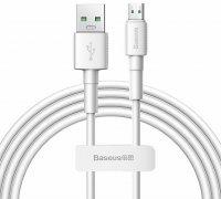 Кабель USB-Micro Baseus Mini White White 2m 4A