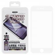 Защитное стекло Apple iPhone 7 WK Thick Panda 6D White 0.33mm