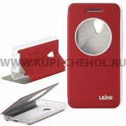 Чехол  откидной  ASUS  Zenfone 4  A450CG  Ulike  7174  красн