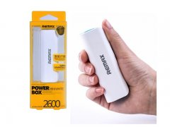 Power Bank 2600 mAh Remax Mini бело-голубой