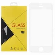 Защитное стекло Apple iPhone 5/5S Glass Pro Full Glue белое 0.33mm