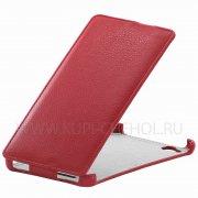 Чехол флип Fly IQ457 Quad Universe 5.7 Angell Case красный