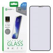 Защитное стекло iPhone XS Max Amazingthing SupremeGlass Full Glue Anti-Blue Light Black 0.3mm
