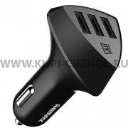 Автомобильный адаптер 4.2A 3 USB Remax RCC - 304 Aliens