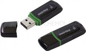 Флеш Smartbuy Paean 32Gb Black USB 2.0