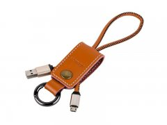 Кабель-брелок USB-Micro Remax Western RC-034m Brown