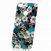 Чехол-накладка Huawei Honor 9 Lite Luxo Flowers H11 фосфор