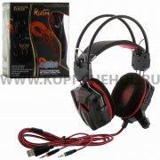 Игровая гарнитура SmartBuy Rush Cobra SBHG-1300 черно - красная