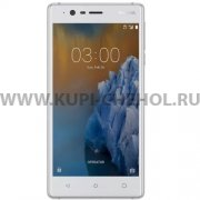 Телефон Nokia 3 DS LTE Silver/White
