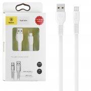 Кабель USB-Micro Baseus Tough CAMZY-B02 White 1м